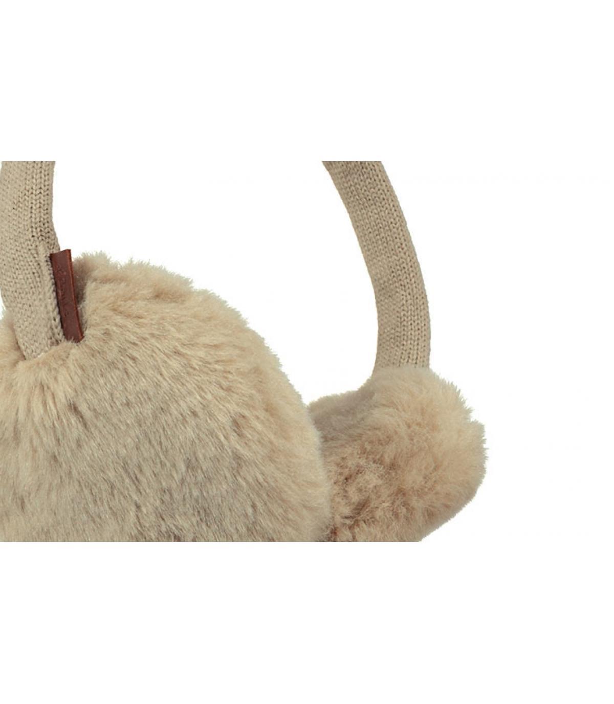 Details Plush Earmuffs taupe - Abbildung 3