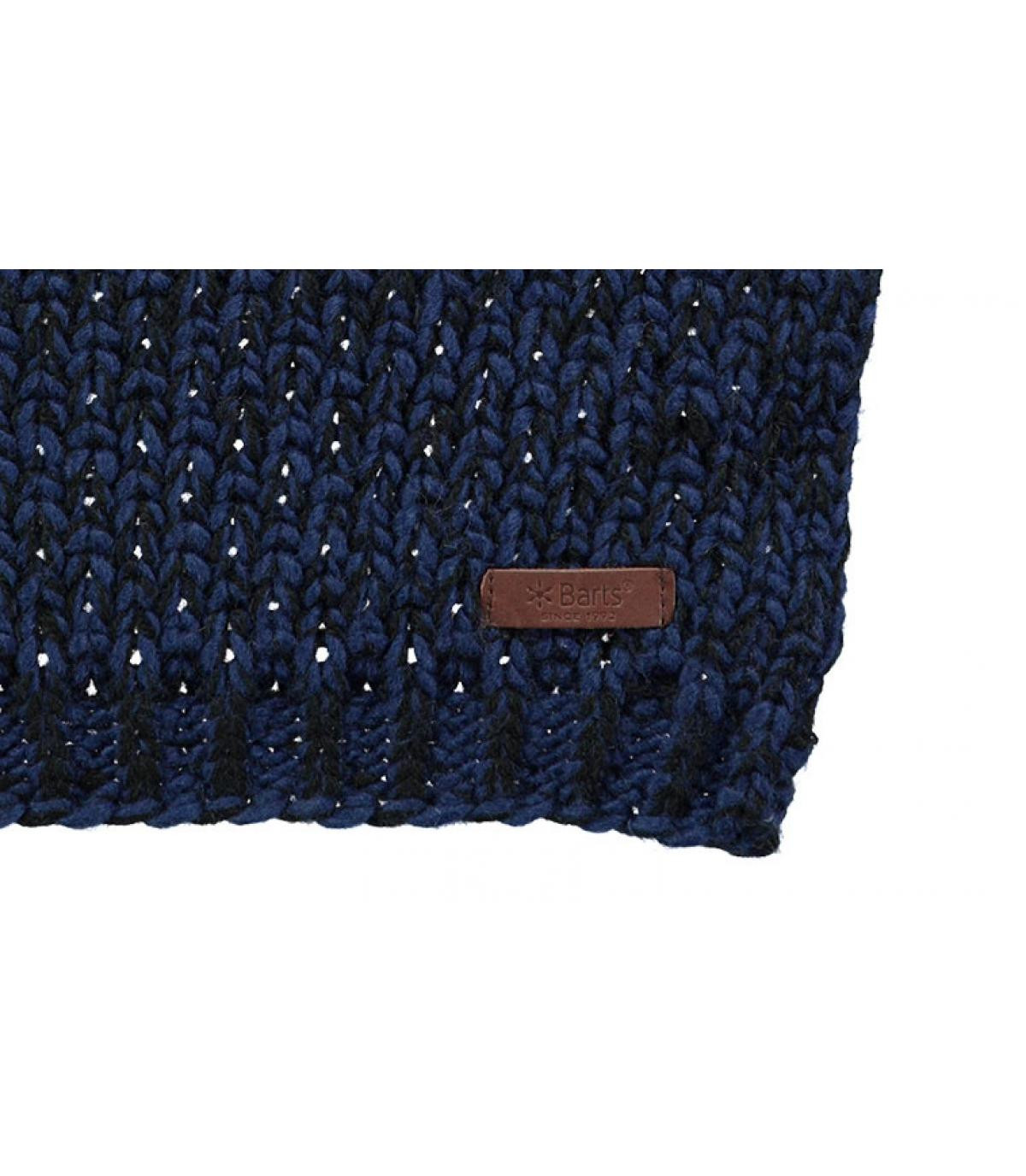 Details Lester Scarf dark blue - Abbildung 2