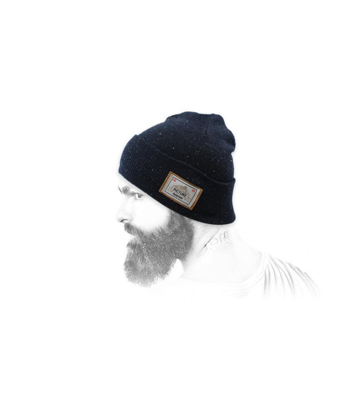 Mütze Revers blau Picture