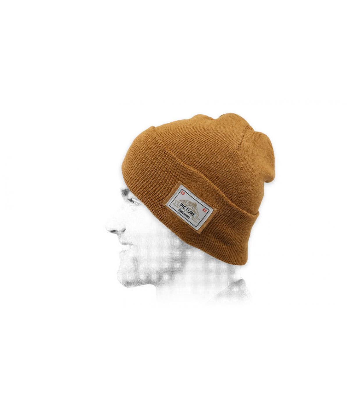 Mütze Revers beige Picture