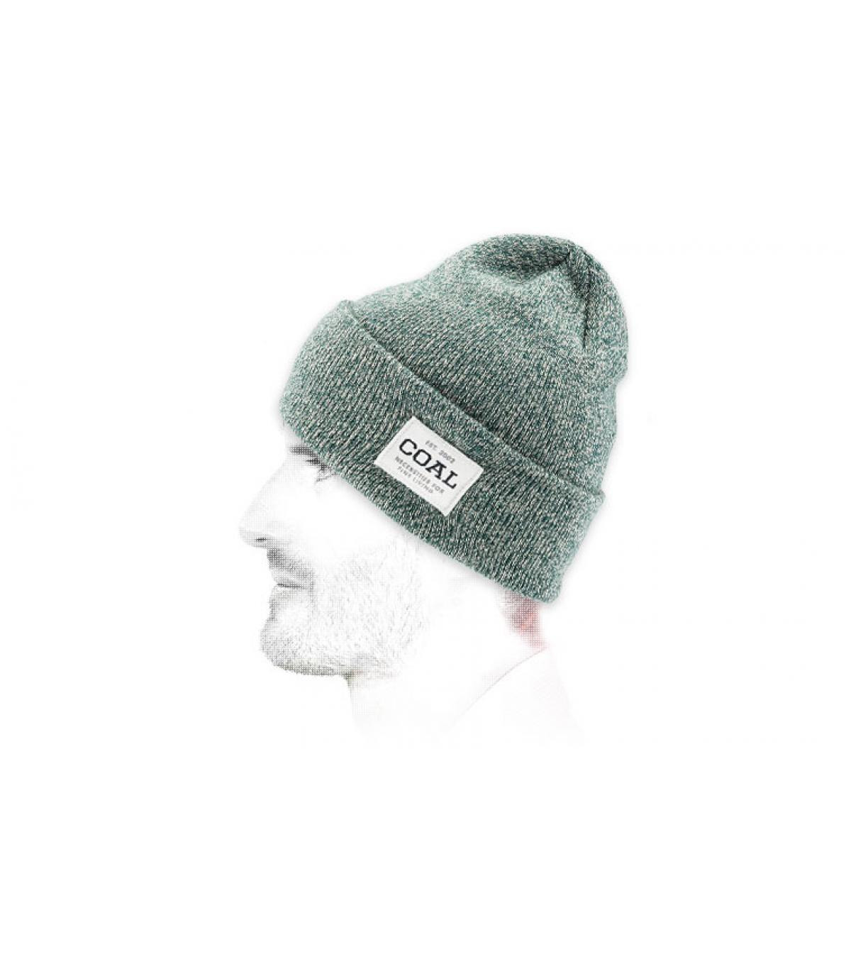 Grüne Mütze Revers Coal