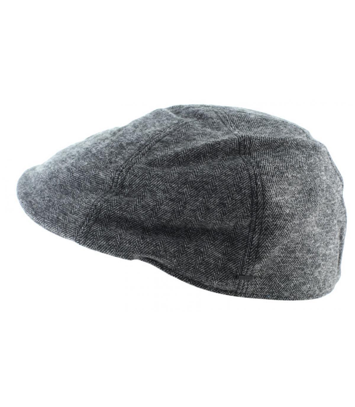 Duckbill Cap schwarz Baumwolle