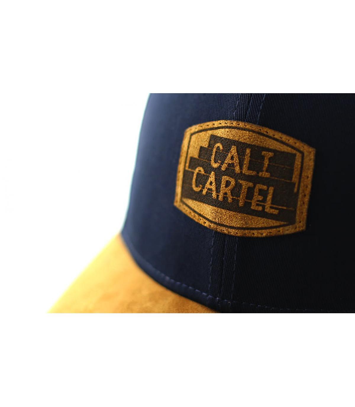 Details Curve Cali Cartel navy suede - Abbildung 3