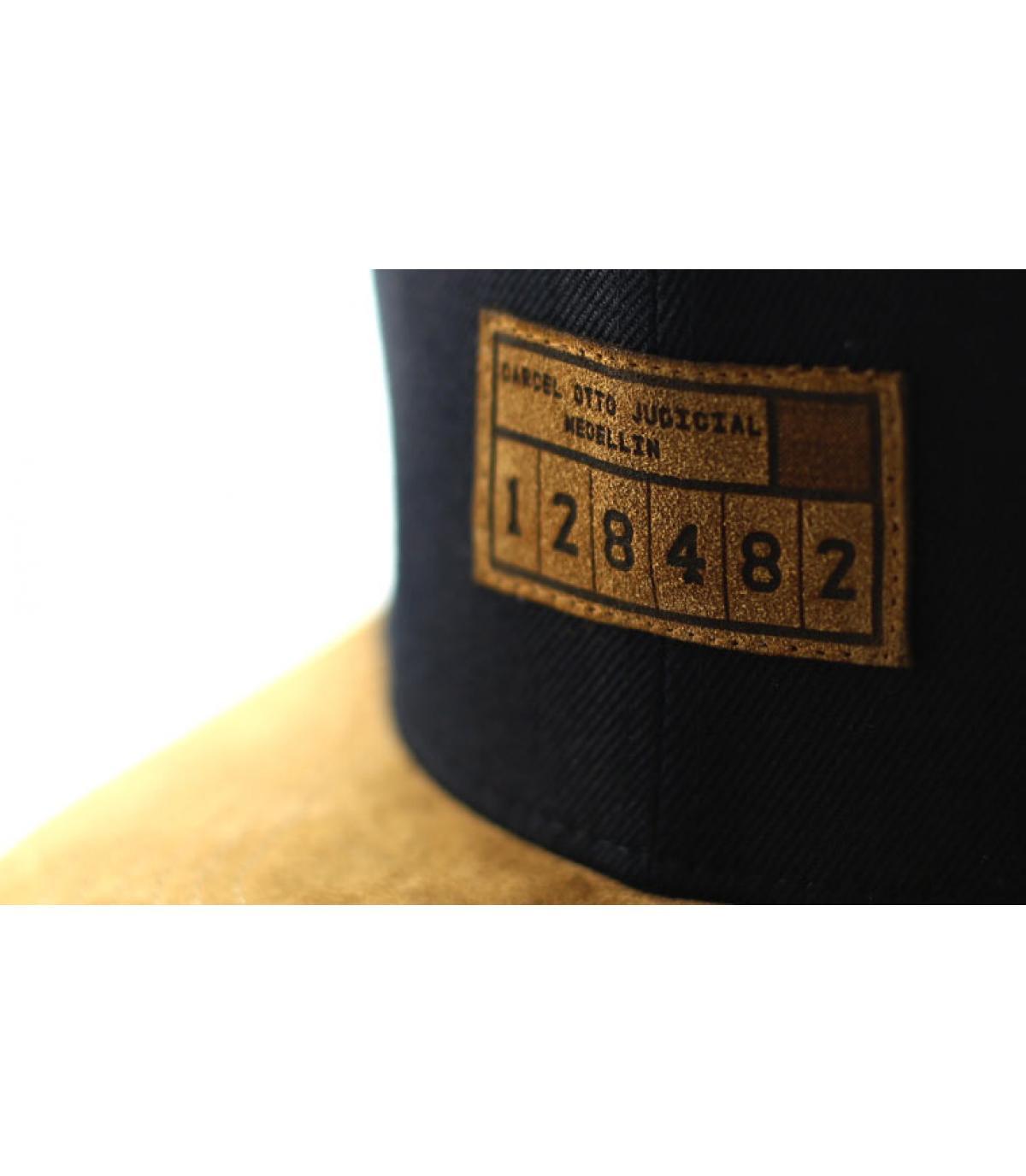 Details Snapback 128482 black suede - Abbildung 3