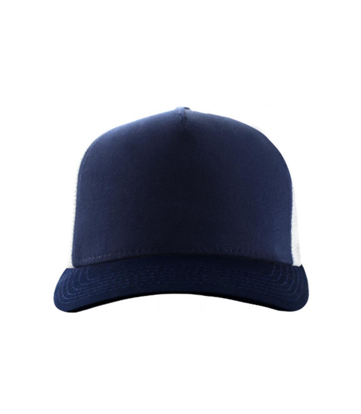 Trucker marineblau weiß