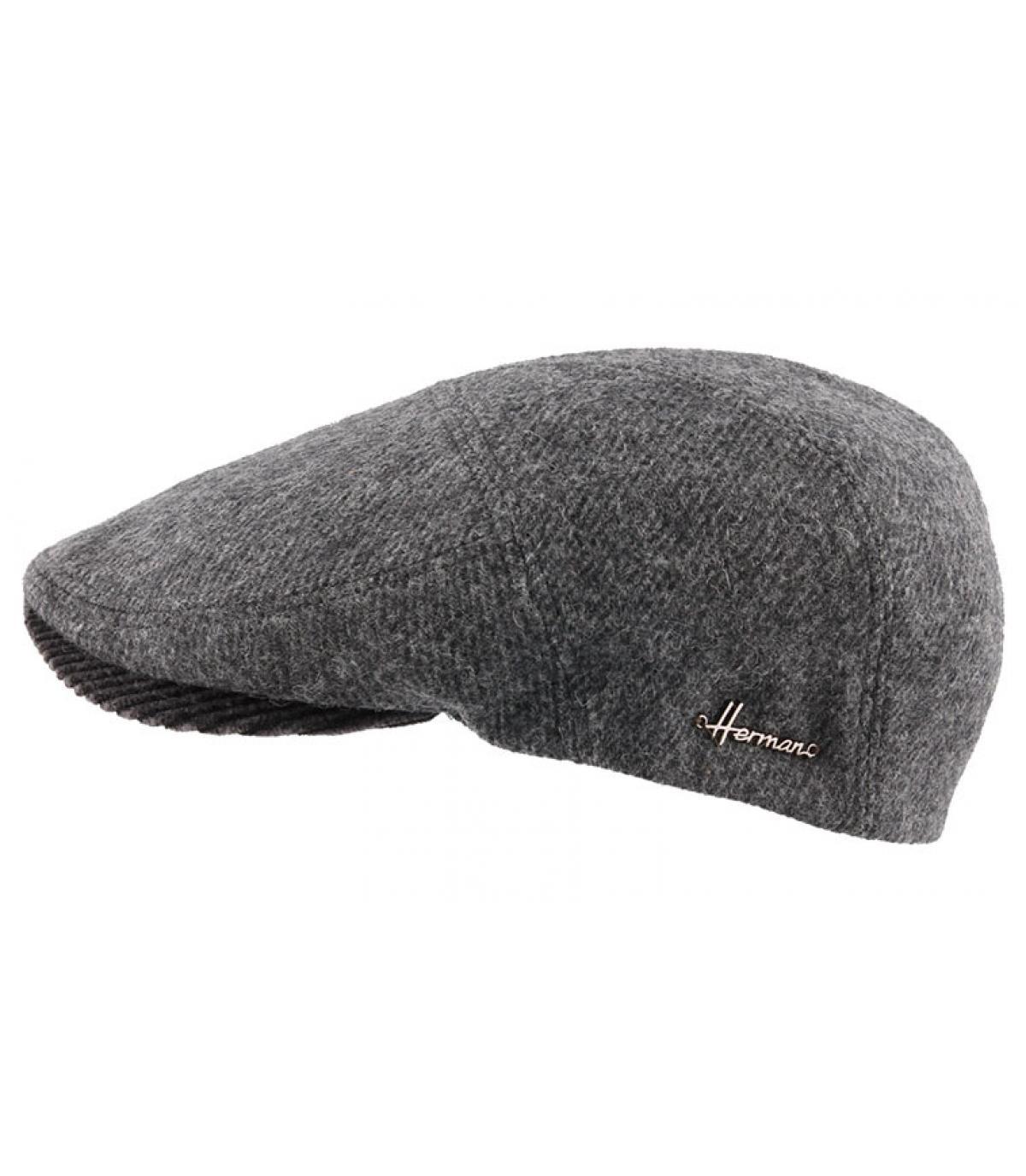 Barett Wolle grau