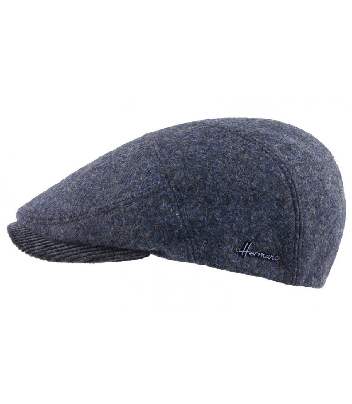 Barett Wolle blau
