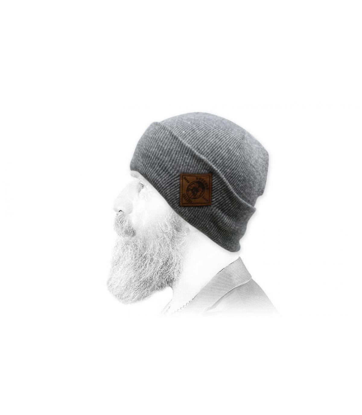 Mütze Aaaaaargh grau