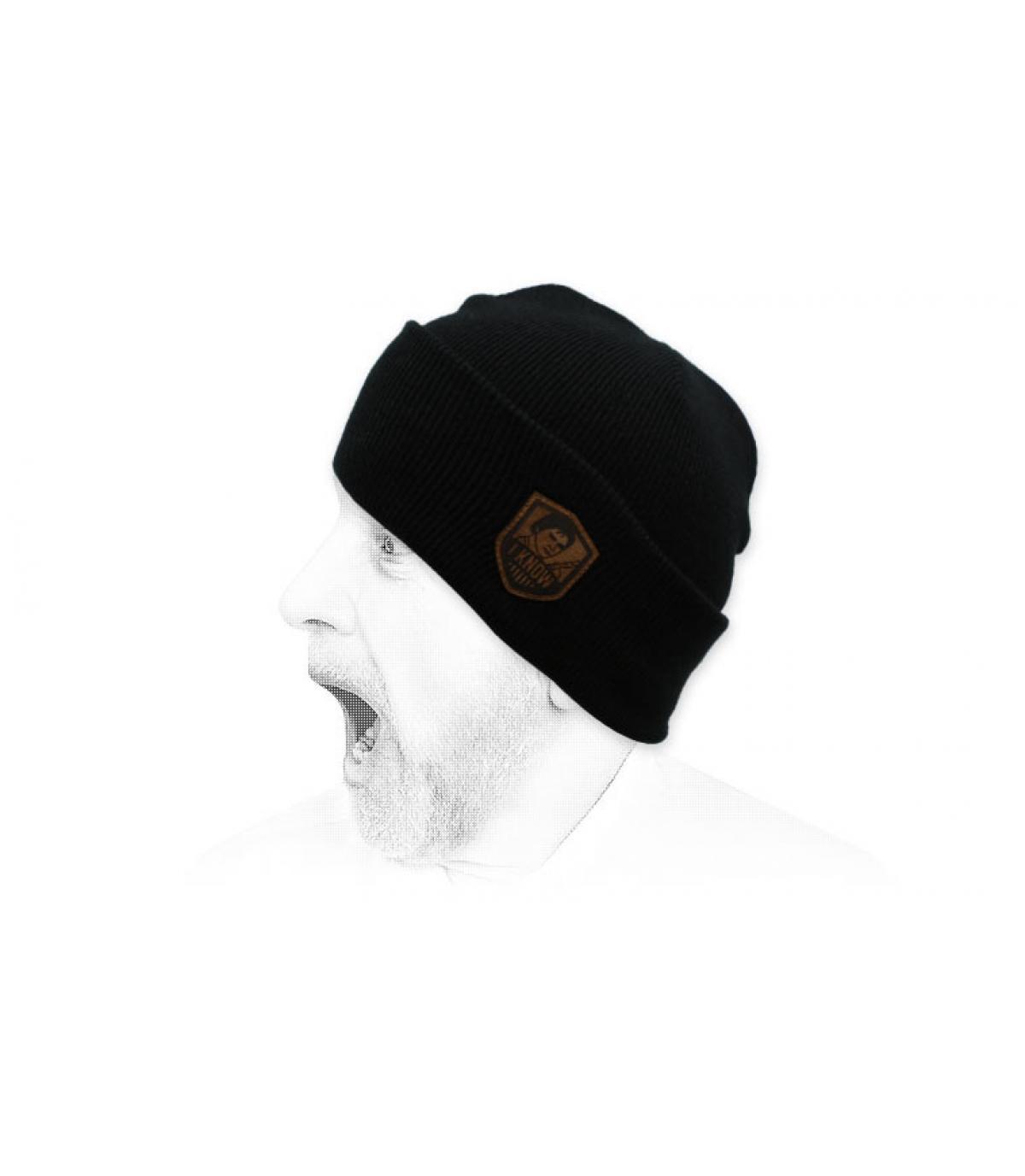 Mütze I Know noir