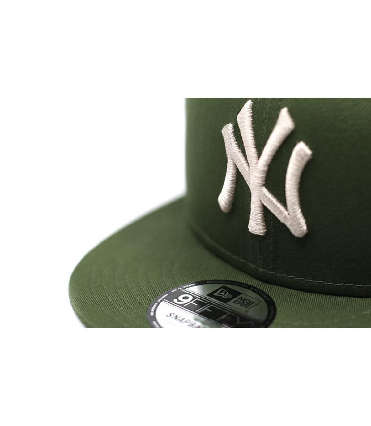 Details Snapback League Ess 9Fifty NY rifle green stone - Abbildung 3