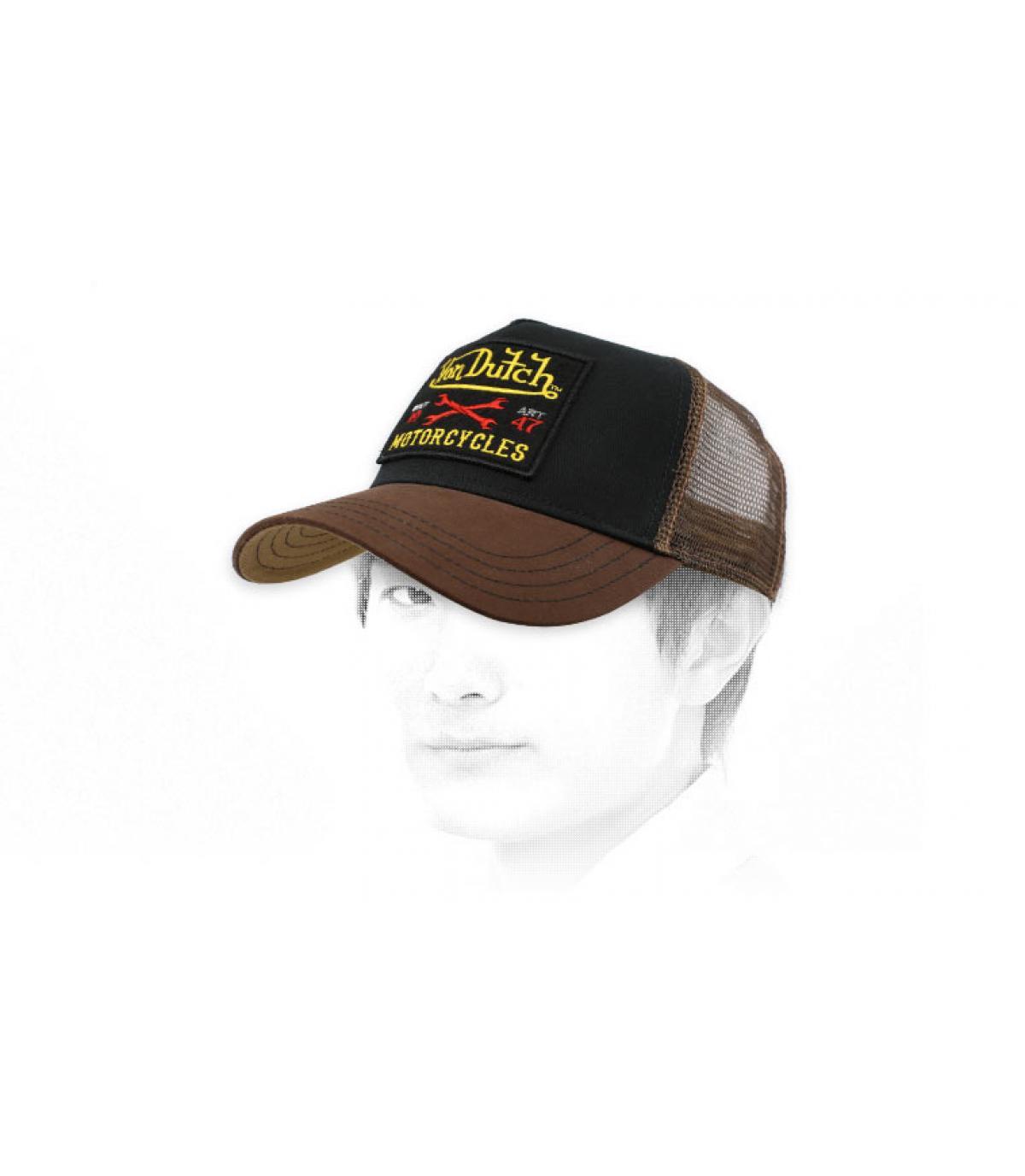Trucker Von Dutch braun schwarz