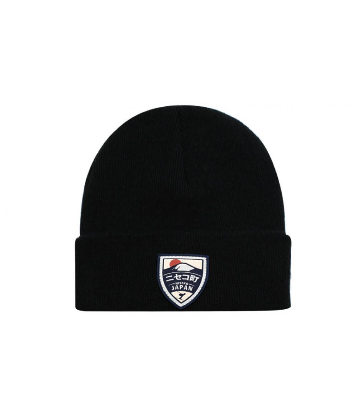 mütze niseko schwarz