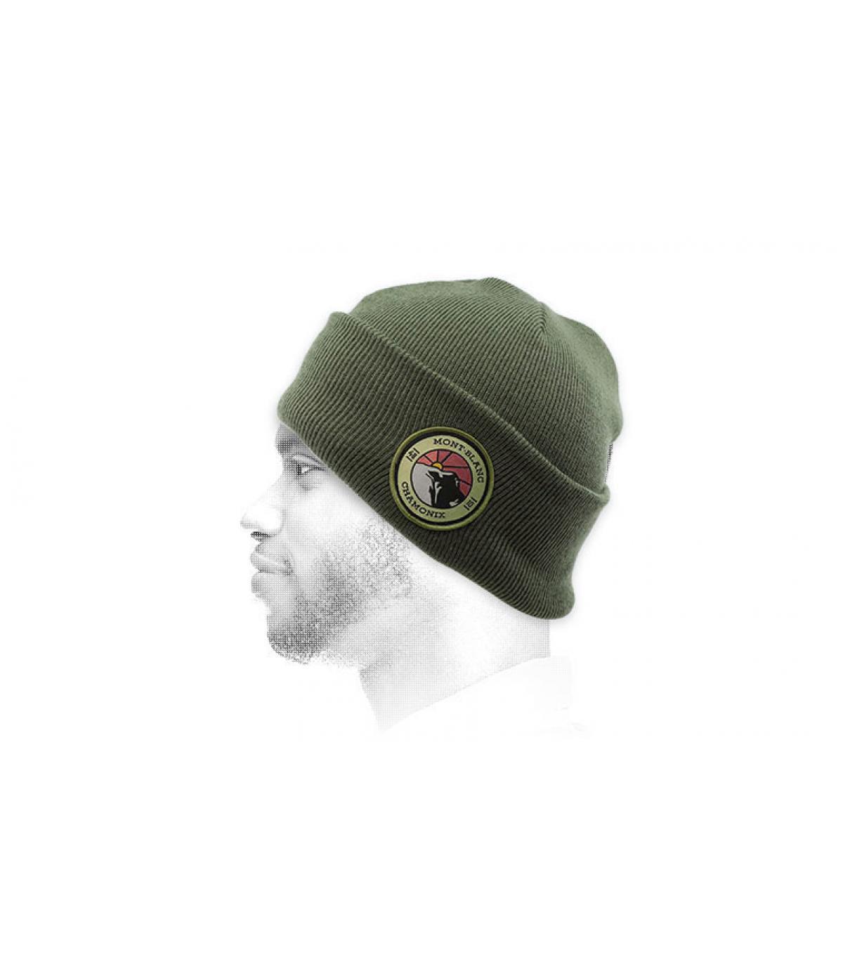 mütze mont blanc grün