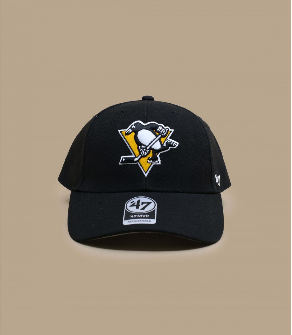 Cap Penguins schwarz
