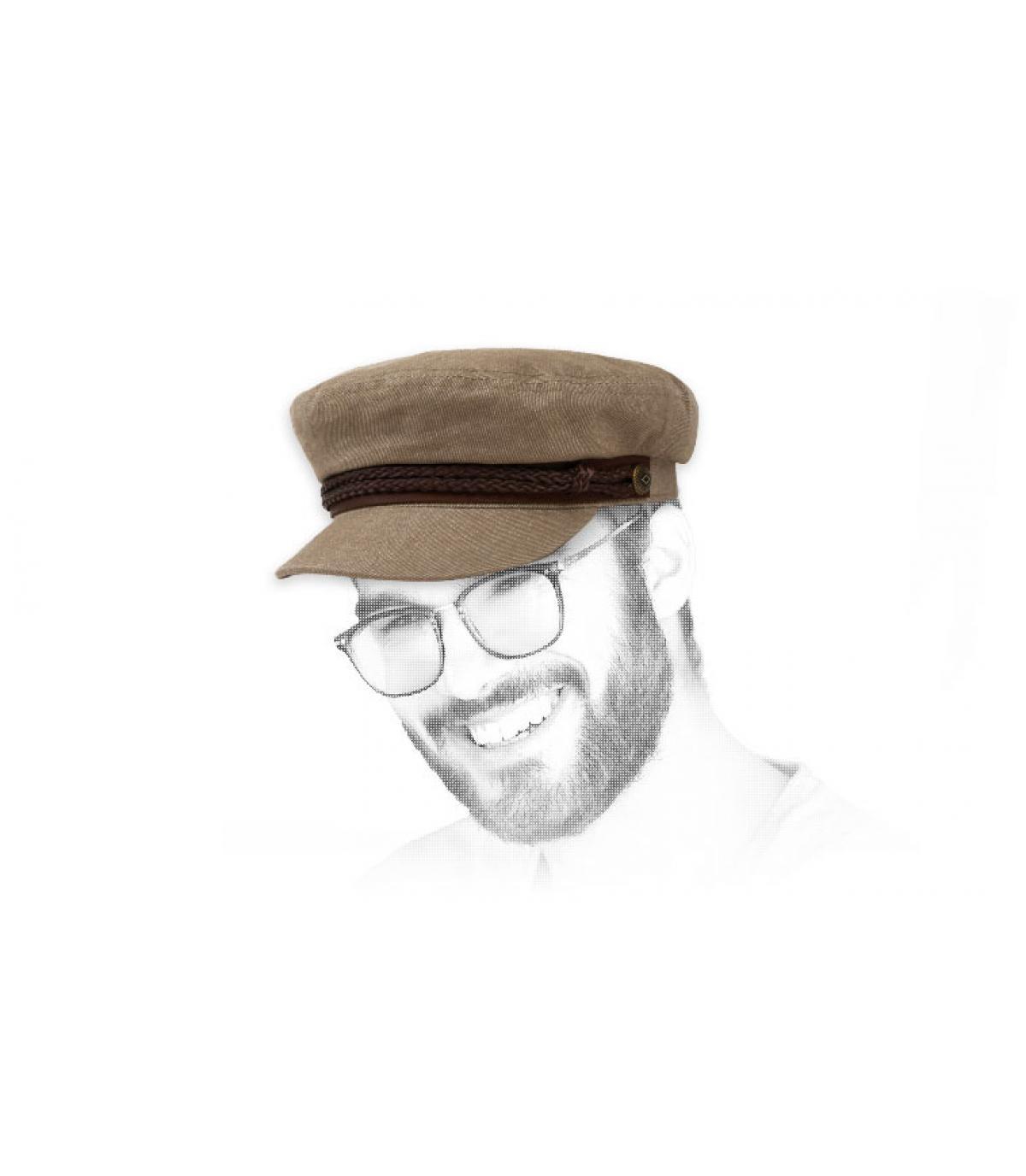 Seemann Cap khaki Brixton