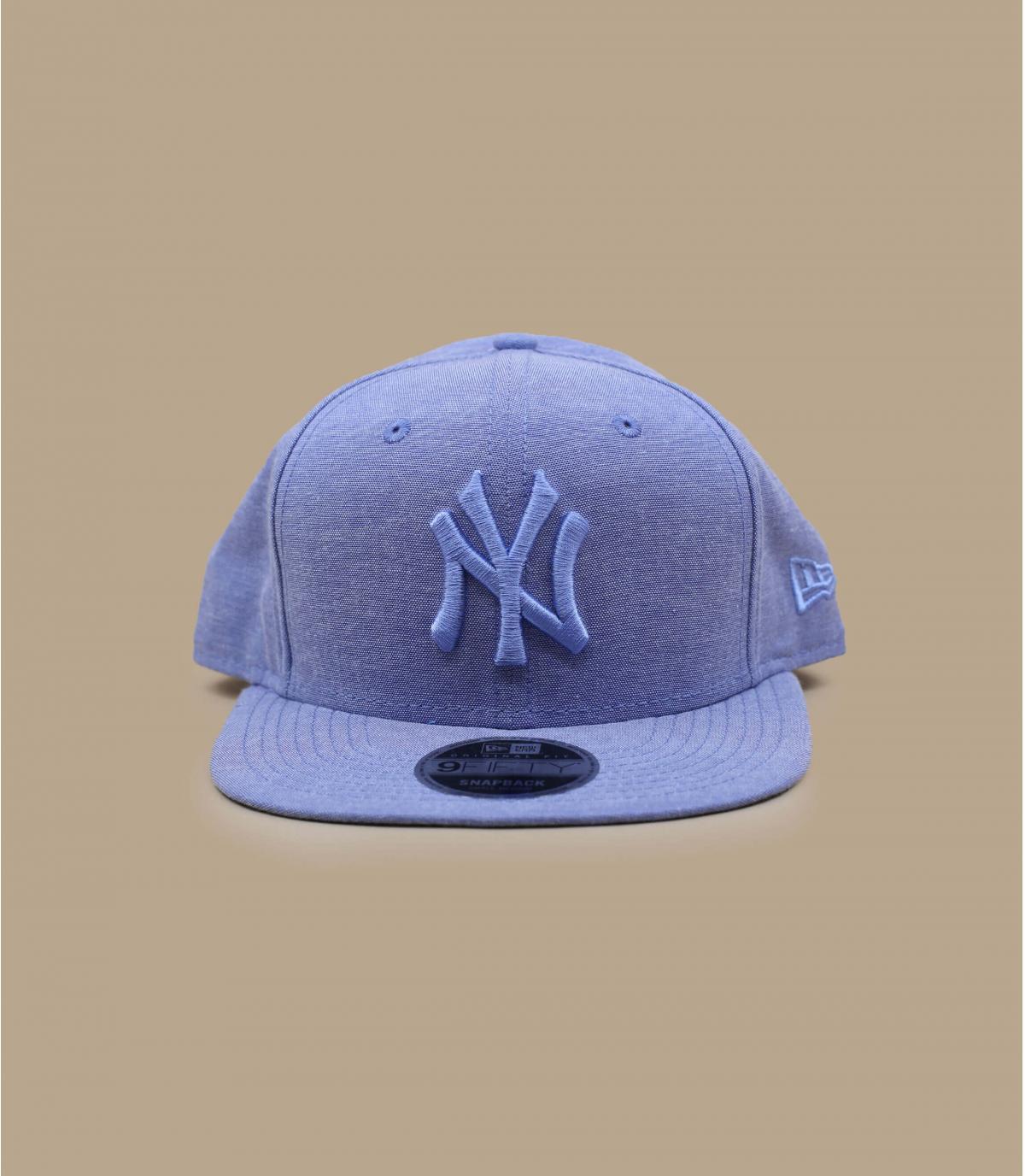 Details Snapback MLB Oxford 9Fifty NY sky blue - Abbildung 2