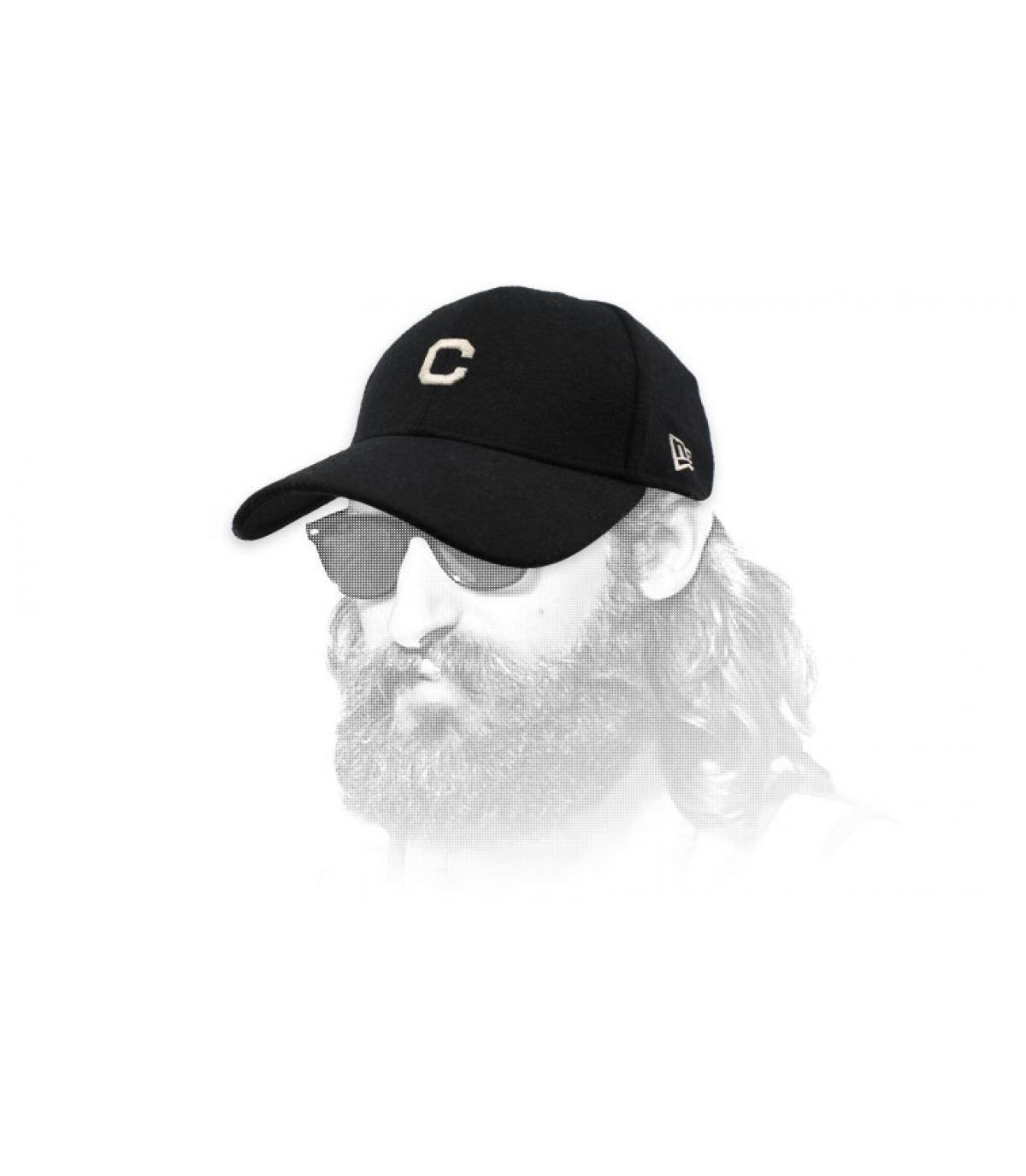 Cap C noir