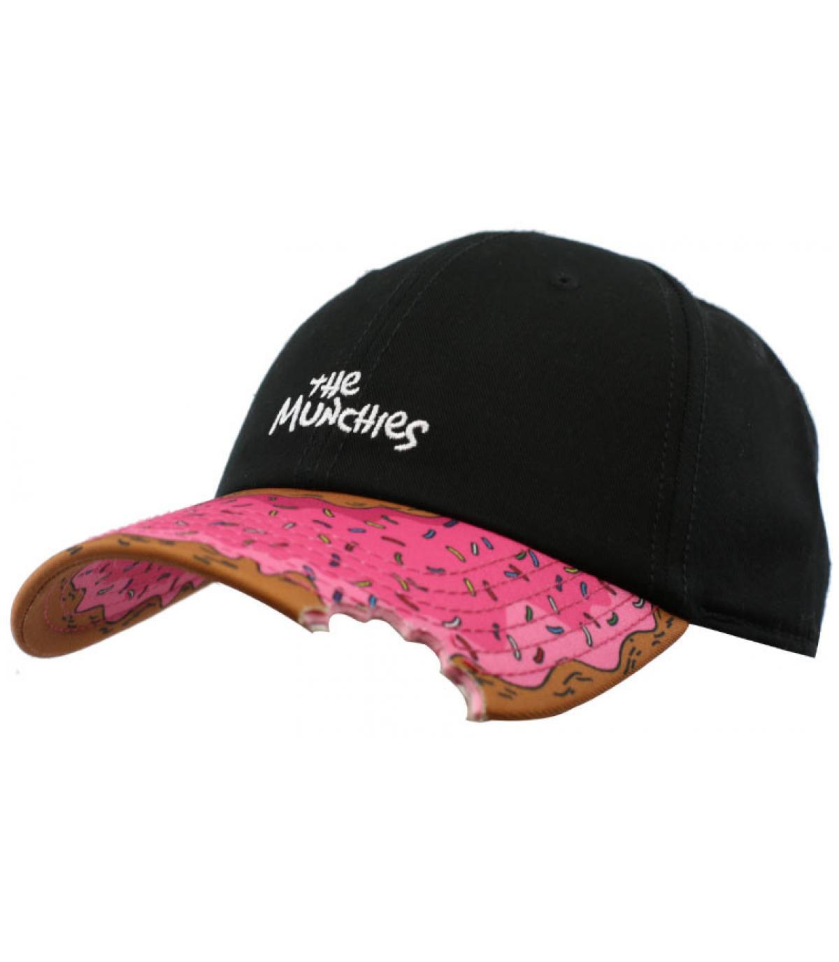 Cap Donut schwarz rosa - Munchies curved black von Cayler and Sons ...